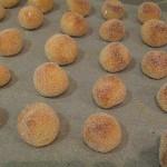 Panallets de limon horneados