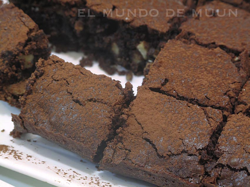 Brownie con avellanas