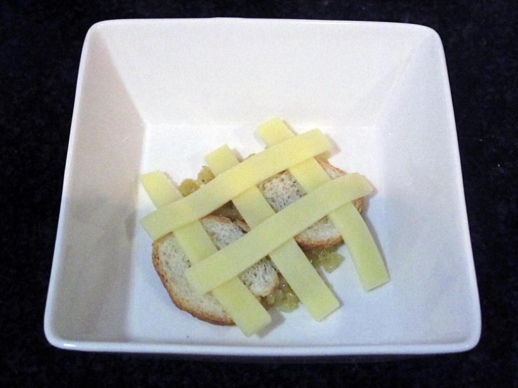 Como hacer sopa de queso. Paso 5