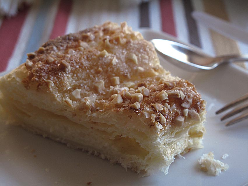 Tortel de Crema Pastelera