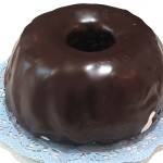 donut aftereight o bizcocho de chocolate y menta
