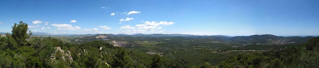 Panoramica desde Olérdola