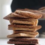 napolitanas caseras o galletas de canela
