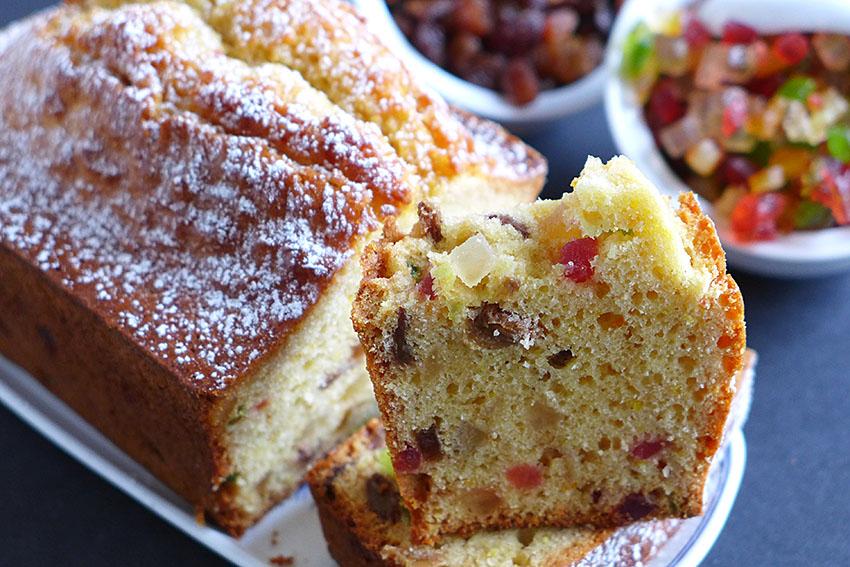 Plum Cake de frutas confitadas