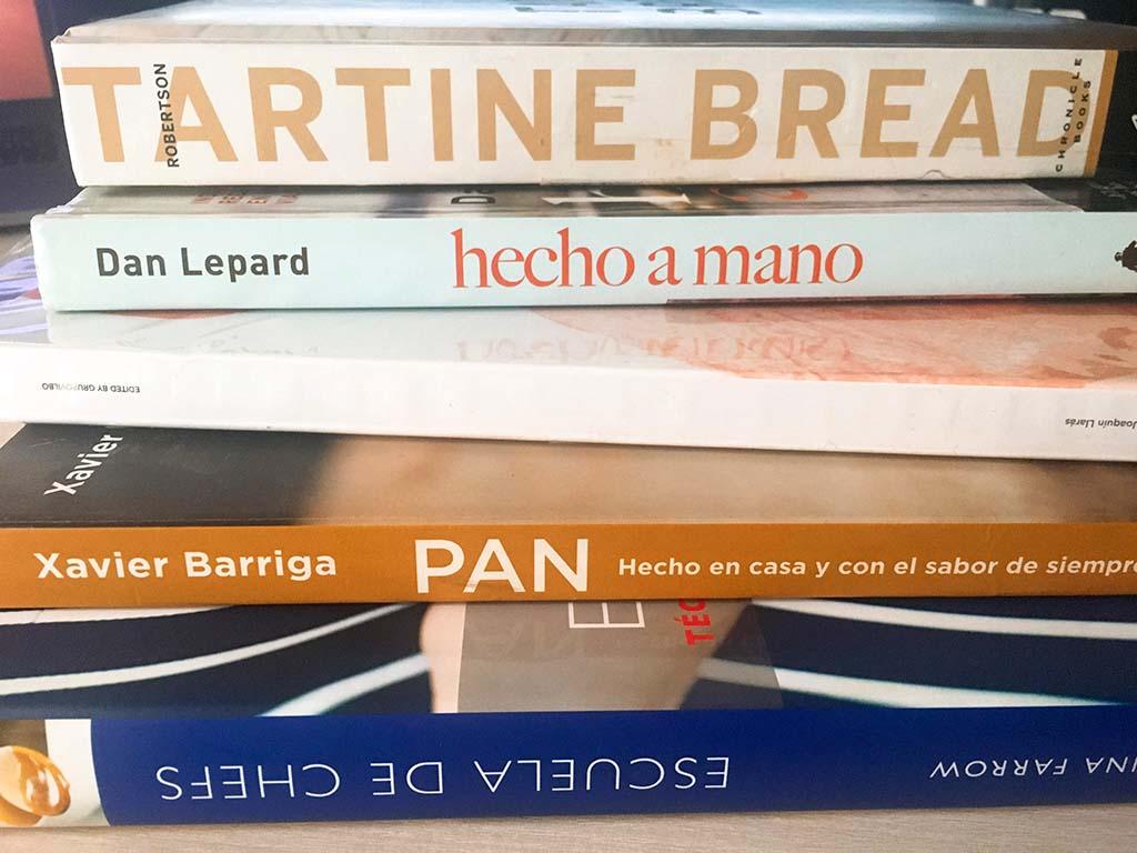 Libros sobre pan casero