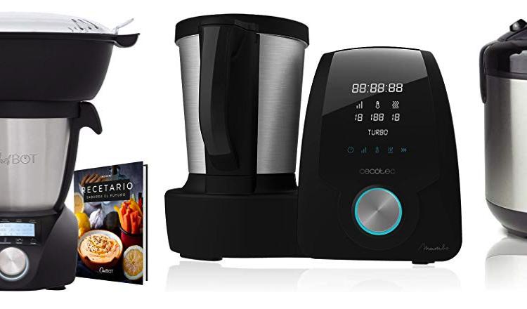 robots de cocina - amazon