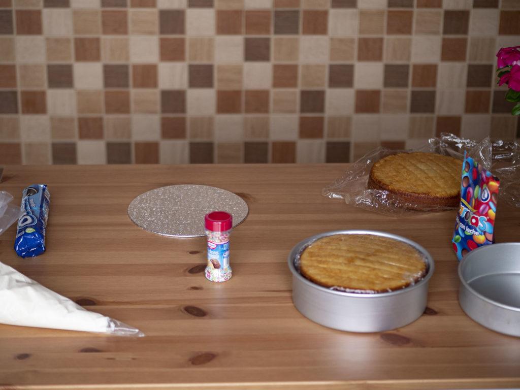 Elementos de un pastel o tarta