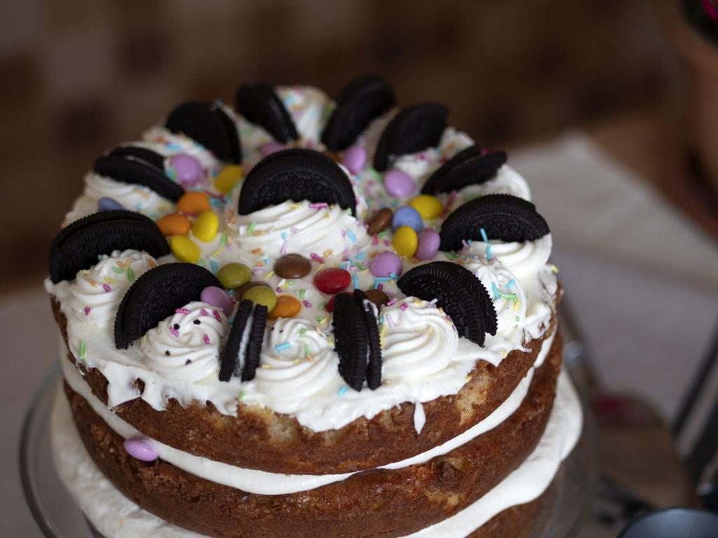 Decorar un pastel o tarta