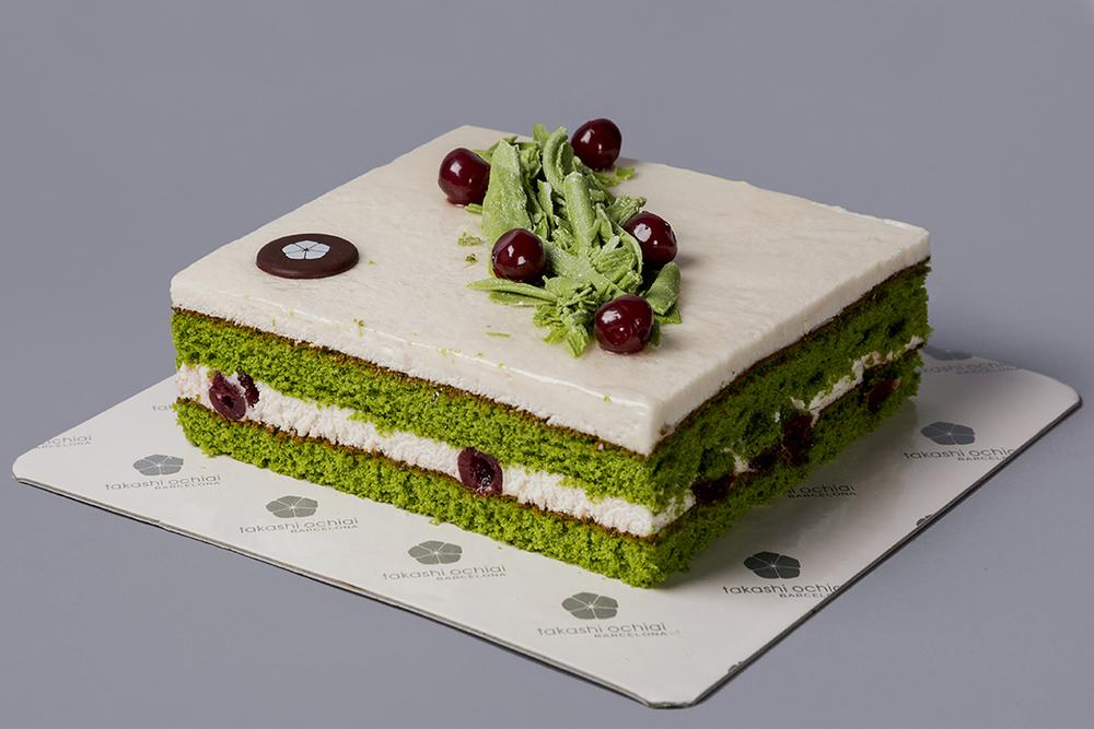 Selva verde de la pastelería Ochiai