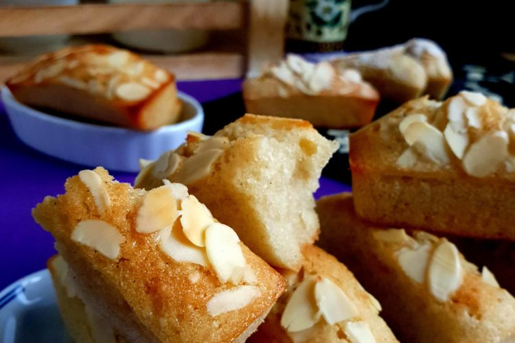 Financiers, receta francesa